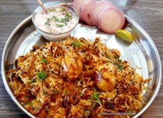 easy to make egg biryani recipe