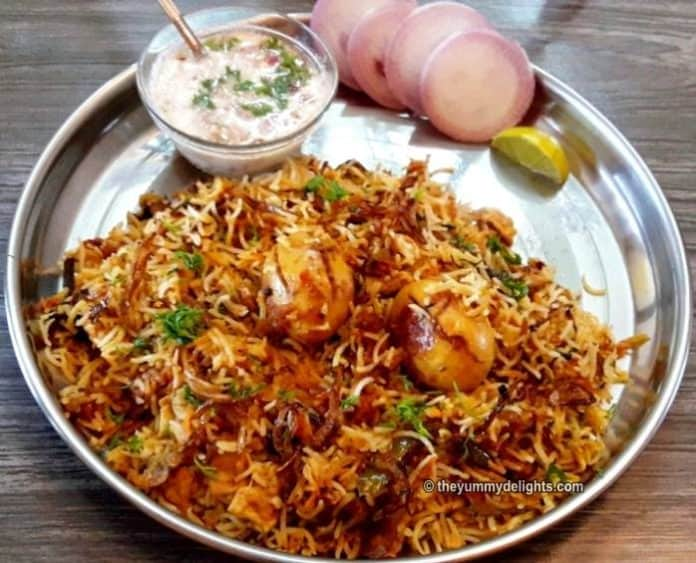 easy to make egg biryani recipe
