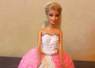 doll cake recipe without mold