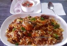 chicken briyani in pressure cooker