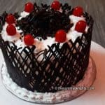 Black Forest Cake (No Oven, No Eggs) | How to make Black Forest Cake without Oven
