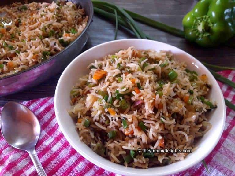 How to make veg fried rice recipe