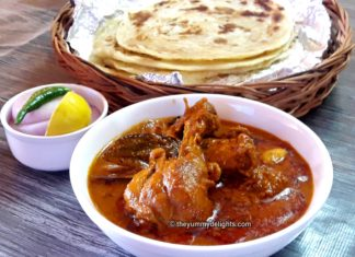 Chicken Korma is a mildly spicy dish with a rich, thick, creamy and mildly spicy gravy.