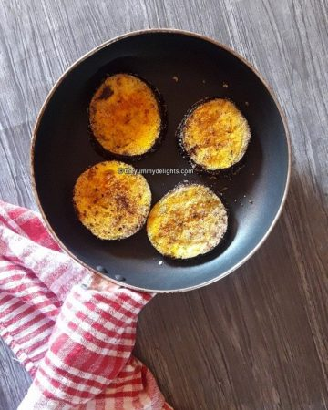 baingan fry/vangyache kaap/vainganache phodi recipe