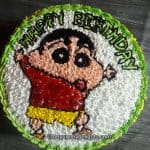 Shinchan cake - Step by step tutorial + video) - The Yummy Delights