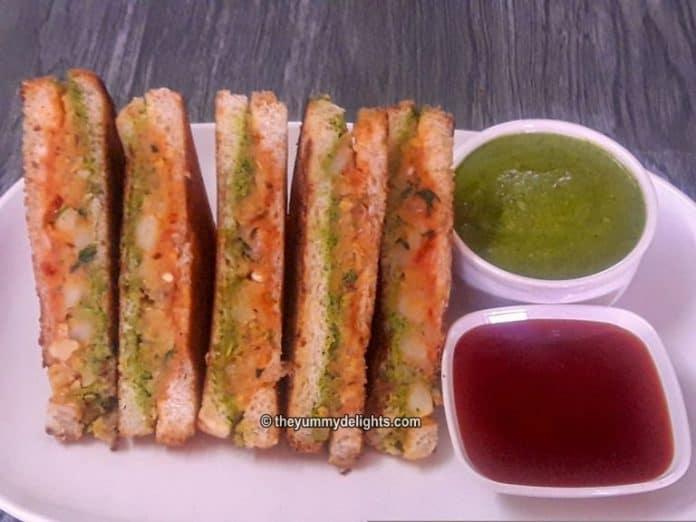 aloo sandwich recipe
