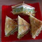 Veg club sandwich recipe | Sandwich recipe |Club sandwich recipe