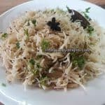 Perfect Jeera rice recipe in pressure cooker (within 30 minutes)