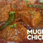 Mughlai chicken curry recipe-North Indian Chicken Mughlai  recipe