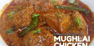 mughlai chicken curry recipe